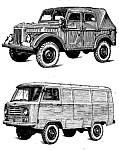 Каталог запасных частей Газ-69, Газ-69А, Уаз-450, Уаз-450А и Уаз-450Д