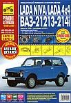Автомобили Lada Niva и Lada 4x4, ВАЗ-21213 и ВАЗ-21214i, руководство по эксплуатации, обслуживанию и ремонту, каталог деталей