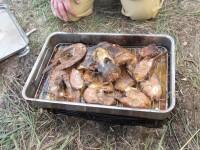 Копчение рыбы горячим способом в переносной коптильне