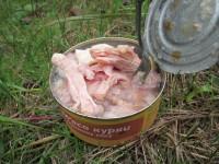 Мясные консервы, тушенка, мясо курицы в собственном соку, ООО Феникс