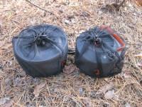 Кастрюля Fire Maple FMC-212S и чайник FMC-T4 в сетчатых чехлах
