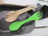 Гибридная ложка Wildo Spork с вилкой и столовым ножом