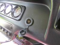 Автомобильная розетка на 12V вместо гнезда прикуривателя в Уаз Хантер