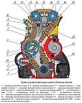 Различия в приводе распредвалов ЗМЗ-409, зубчатые и втулочные цепи ГРМ