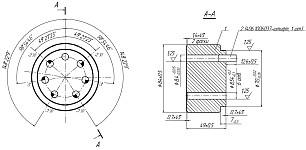 Кондуктор для сверления дополнительных отверстий под штифт в звездочках распределительных валов на ЗМЗ-409 с втулочными цепями