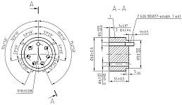 Кондуктор для сверления дополнительных отверстий под штифт в звездочках распределительных валов на ЗМЗ-409 с зубчатыми цепями
