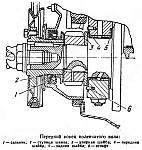 Передний конец коленчатого вала двигателя УМЗ-417