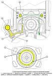 Поршневые пальцы и верхние головки шатунов двигателя ЗМЗ-51432 CRS смазываются разбрызгиванием