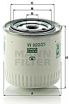 Размеры масляного фильтра подходящего на двигатели ЗМЗ установленные на УАЗ