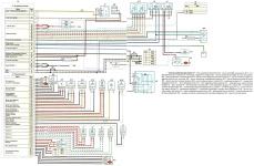 Схемы электрооборудования Газель NEXT с двигателем Cummins ISF2.8, схема системы управления двигателем, диагностика неисправностей бортового электрооборудования