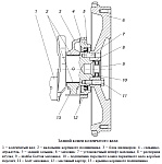 Задний конец коленчатого вала двигателя ЗМЗ-40906