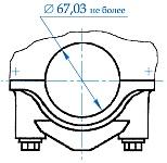 Замер диаметров опор под вкладыши коренных подшипников необходимо производить на блоке цилиндров собранном с соответствующими крышками коренных подшипников