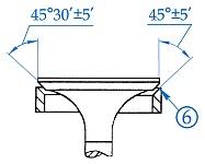Клапана и привод клапанов двигателей ЗМЗ-405, ЗМЗ-406, ЗМЗ-409, места контроля, предельные размеры, способы устранения дефектов при ремонте и сборке