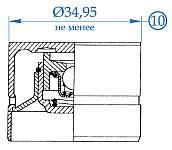При износе диаметра гидротолкателя привода клапанов двигателей ЗМЗ-405, ЗМЗ-406, ЗМЗ-409 до размера менее 34,95 мм, его надо браковать