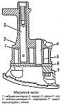 Масляный насос 406.1011010-03, привод масляного насоса, масляный фильтр и масляный радиатор двигателя ЗМЗ-4062, устройство, принцип работы