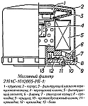 Разборный фильтр очистки масла 2101С-1012005-РК-1 системы смазки двигателя ЗМЗ-4062, устройство, принцип работы