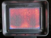 Работа каталитического газового обогревателя ORGAZ BSB-600