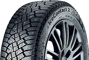 Зимние шины с вклеенным шипом CONTINENTAL ICECONTACT 2
