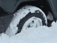 Преодоление сугробов и снежных заносов на внедорожнике