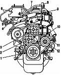 Каталог деталей и сборочных единиц двигателя УМЗ-421, УМЗ-4218
