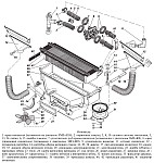 Отопитель салона автомобилей УАЗ-31512, УАЗ-31514, УАЗ-31519 и Уаз Хантер