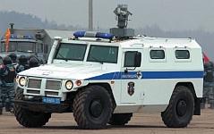 Специальная полицейская машина ГАЗ-233034 Тигр с устройством отстрела спецсредств Лафет, особенности конструкции