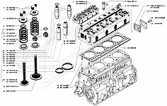 Головка блока цилиндров двигателя УМЗ-421, ее модификации и ремонт