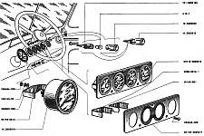 s021m - Уаз 469 приборная панель