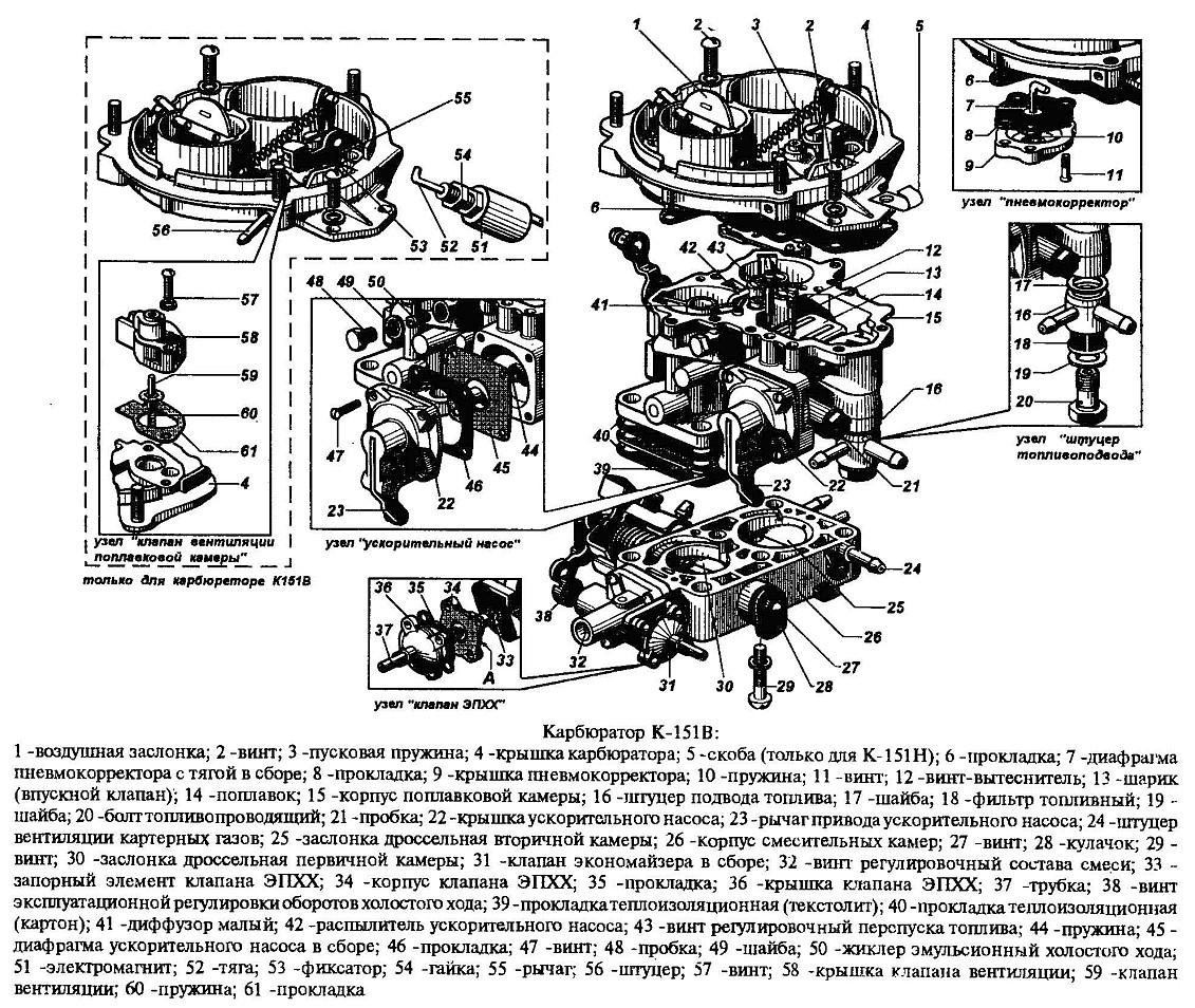 Схема карбюратора 126 гу фото 643