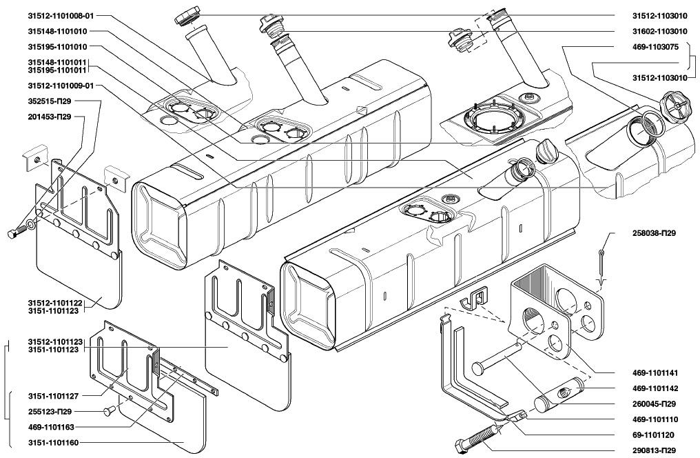 Буханка, инжектор, топливная система вопрос по второму баку 41