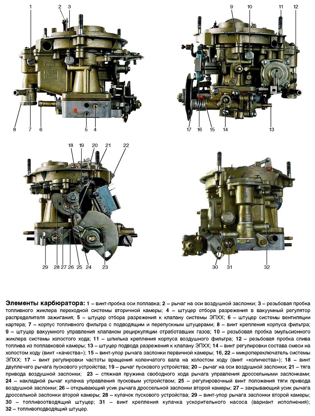 406 двигатель схема карбюратора фото 939
