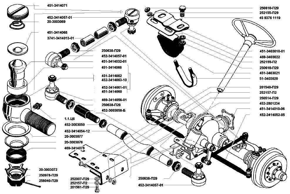 взгляните рулевое управление уаз в картинках олег предположительно